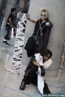Cloud and Leon... again. XD by Mithore-Rauko