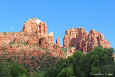 Cathedral rock  by LandscapesNSuchPhoto