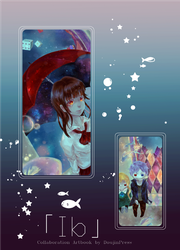 Ib Artbook Preview by kumage-mon