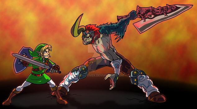 What If - Ganondorf Had The Soul Edge? by DetectiveX