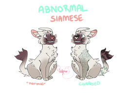 abnormal siamese- 300 points or best offer by vvulpus