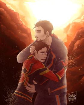[Infinity War spoiler] ''I don't wanna go'' by kaoru-doodles