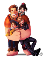 Wreck it Ralph by mewDoubled