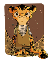 Little tiger girl by Nekr0ns