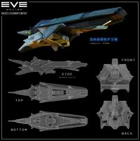 EVE Online - Sharkfin by Hideyoshi