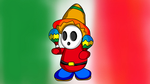 Mexican Shy Guy Maracas by CristianDarkraDx2496
