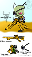 Irken Sniper unit by Sandwich-Anomaly