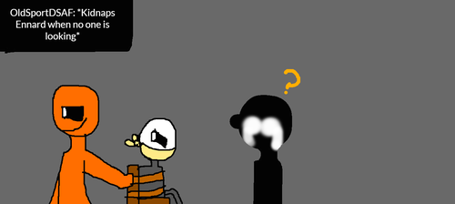 Ask 23 orange guy+purple guy and the Fnaf 2 crew by CupKid1987