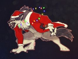 Have a Monstery Chrismas by N-o-x-y