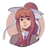 Just Monika by bearoyalty
