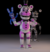 Toony Funtime Freddy by Zylae