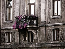 Krakow balcony by friartuck40