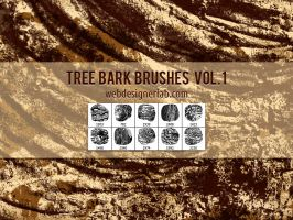 Tree Bark Brushes by xara24