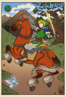 Tale of Zelda - Courage by SeanDonnanArt