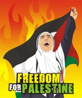 Freedom for Palestine by Redmoon85
