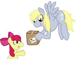 I brought you a package by FrogAndCog