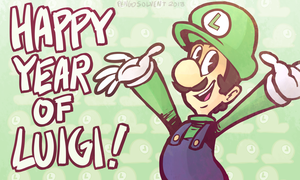 Year of Luigi Mix Compilation by pengosolvent