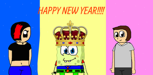 [S]: HAPPY NEW YEAR!!!! by Spongecat1