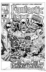 Fantastic Four #320 Cover Recreation by dalgoda7