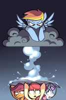 Partly Cloudy by Karzahnii