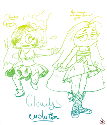Cloudys evolution  by Maniamama