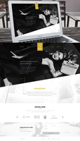 Global agency - Website concept by DABEstudio
