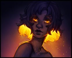 [295] Amber Eyes by mcptato