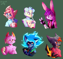 request batch 3: Furries by DragonHF