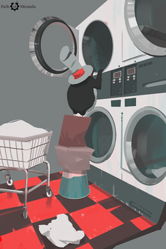 354/365 Path of Miranda_Laundry by snatti89