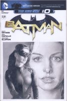 Catwoman blank sketch cover commission by smoothdaddyride