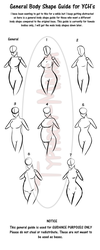 Female Body Guide For YCH's by Typhoon-Manga