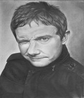 Martin Freeman by sparrowsong83