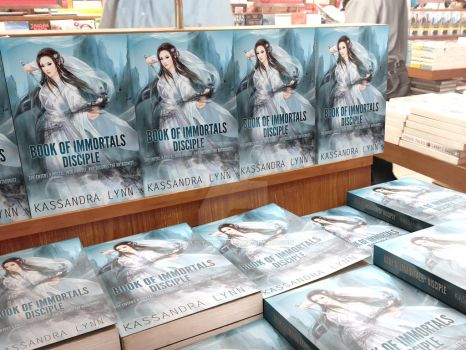 Book Of Immortals Disciple Mock-Up Display 3 by SweetlySouthern