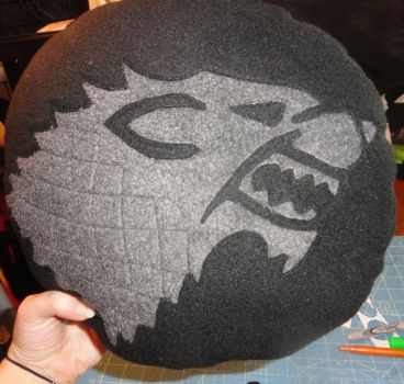 Stark Wolf Pillow Game of Thrones by HatcoreHats