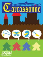 Carcassonne Cover Redesign Detail by OniPolice