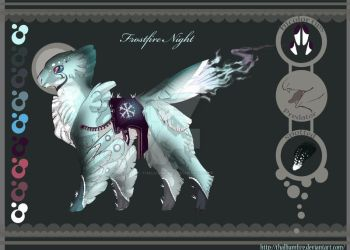 Frostfire Night. Tocatl adopt auction CLOSED by Thalliumfire