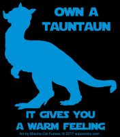 Shirt design- Own a TaunTaun by redneckgaijin
