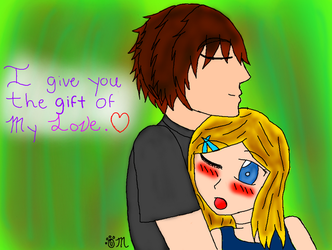 I give you the gift of my love by EmpatheticMortalAnge