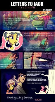 Letters to Jack: APRIL 16 WARM by Icecry