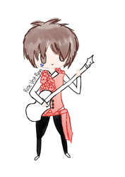 Rose Vest Ryan Ross by RinaLin727