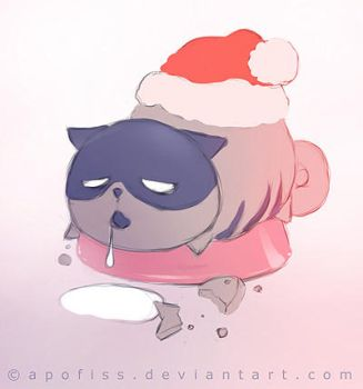 boggart after xmas by Apofiss