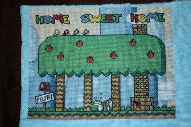 Yoshi Home Sweet Home COMPLETED by NicMarRay