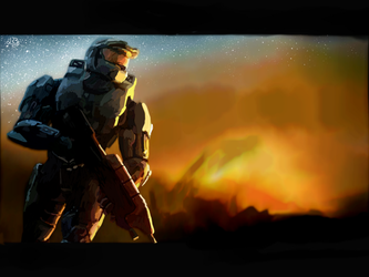 Halo 3 Wallpaper by Timesepticeye133