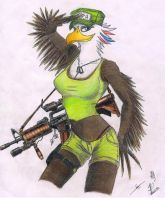 Furry Guns series 02 - Born in the U.S.A by metalfoxxx