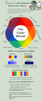 Art Tutorial: Color Theory by Xadrea