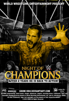 CM PUNK SURPRISING RETURN IN NIGHT OF CHAMPIONS! by Grom1994
