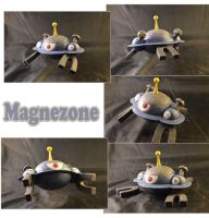 Weekly Sculpture: Magnezone by ClayPita