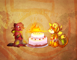 happy birthday Pann by blinding-eclips