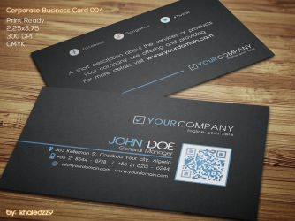 Corporate Business Card 004 by khaledzz9