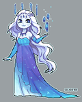Ice witch [Pixel Animation] by SouOrtiz